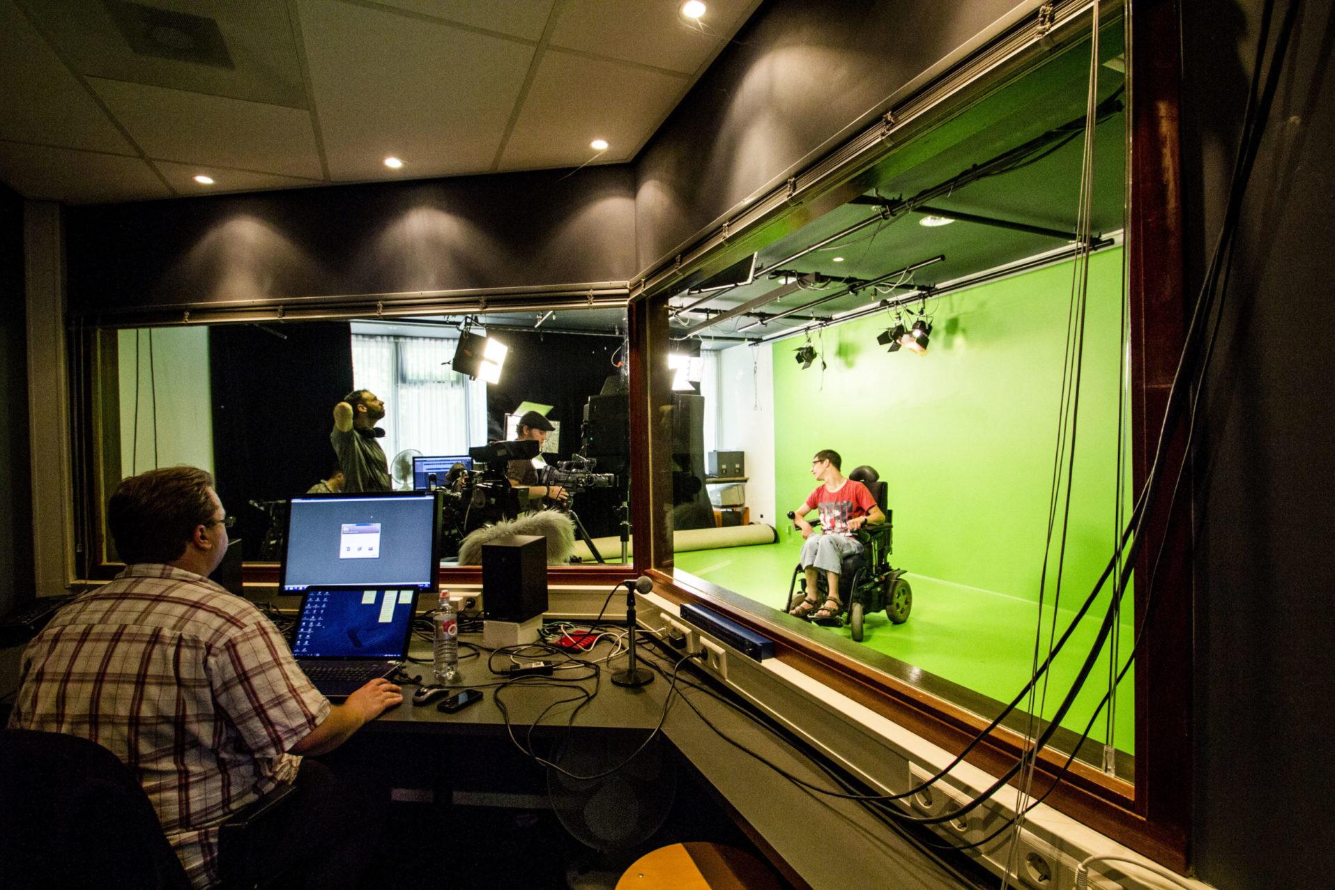 Rock en Rolstoel Producties studio opnames